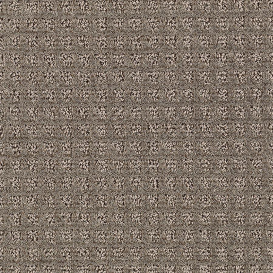STAINMASTER Designboro Essentials Grey Flannel Cut and Loop Carpet Sample