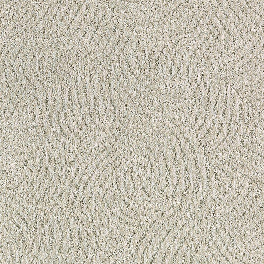 STAINMASTER Fashionboro Essentials Glacier Cut and Loop Carpet Sample