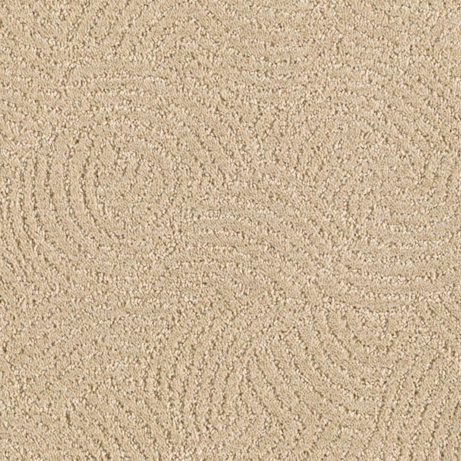 STAINMASTER Fashionboro Essentials Desert Wind Cut and Loop Carpet Sample