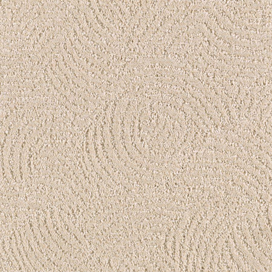 STAINMASTER Fashionboro Essentials Biscuit Cut and Loop Carpet Sample