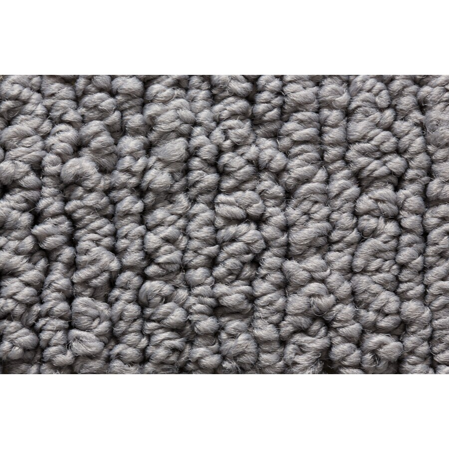 STAINMASTER Sojourn Active Family Tactile Gloss Berber Carpet Sample