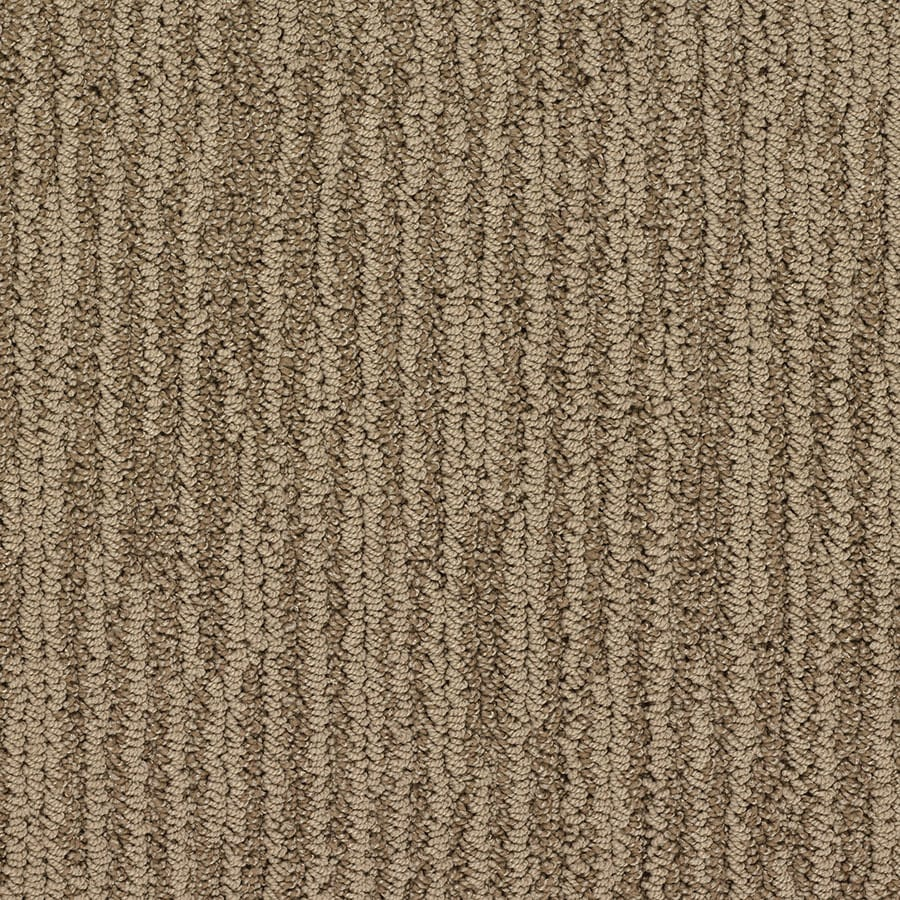 STAINMASTER Olympian Active Family Brooklyn Bridge Berber Carpet Sample