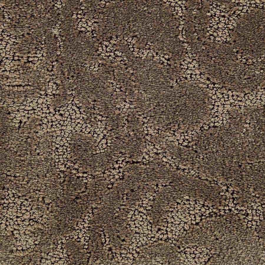 STAINMASTER Duration Active Family Beethoven Cut and Loop Carpet Sample