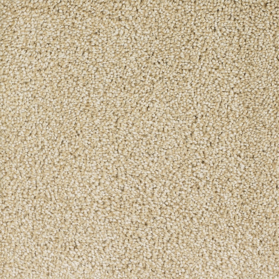 STAINMASTER Shafer Valley Trusoft Cream/Beige/Almond Plus Carpet Sample