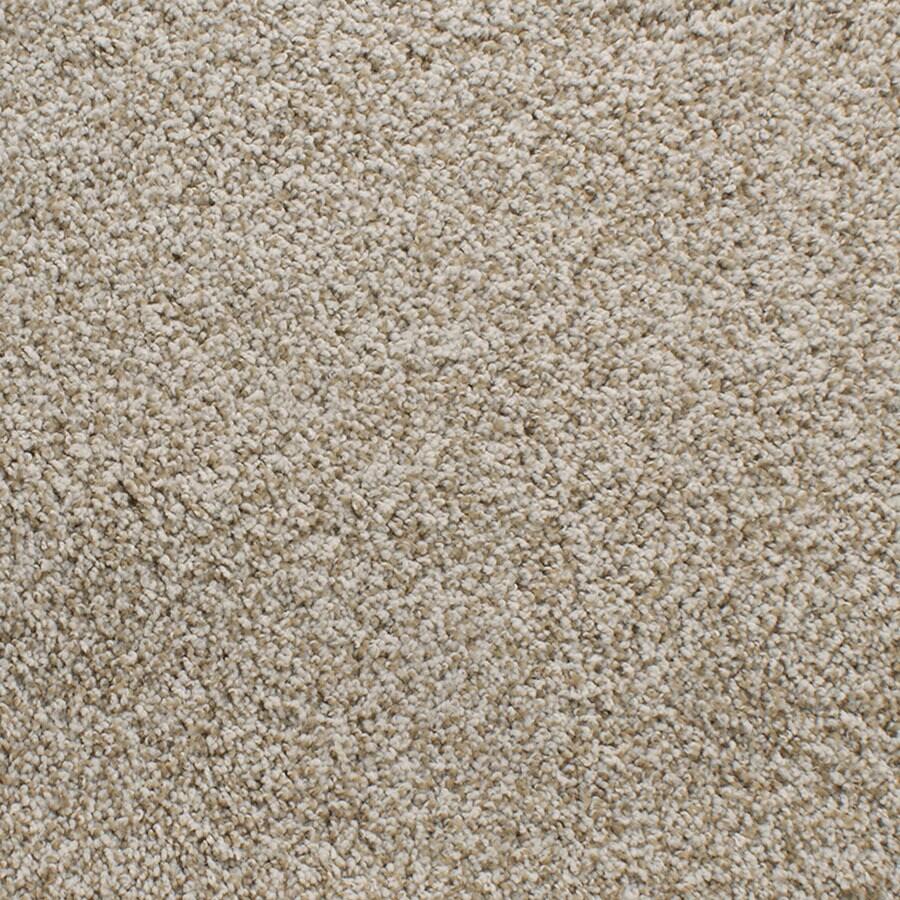 STAINMASTER Luminosity TruSoft Cream/Beige/Almond Plus Carpet Sample