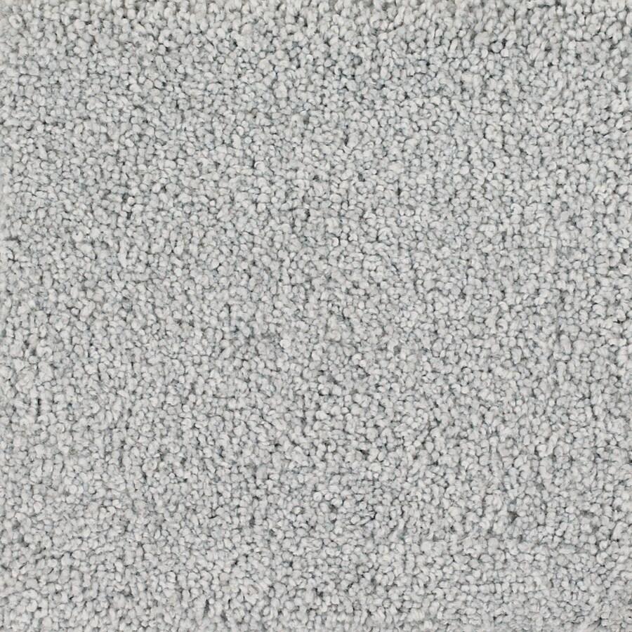 STAINMASTER Pomadour TruSoft Gray/Silver Plus Carpet Sample