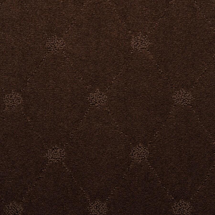 STAINMASTER Hunts Corner TruSoft Babylon Cut and Loop Carpet Sample