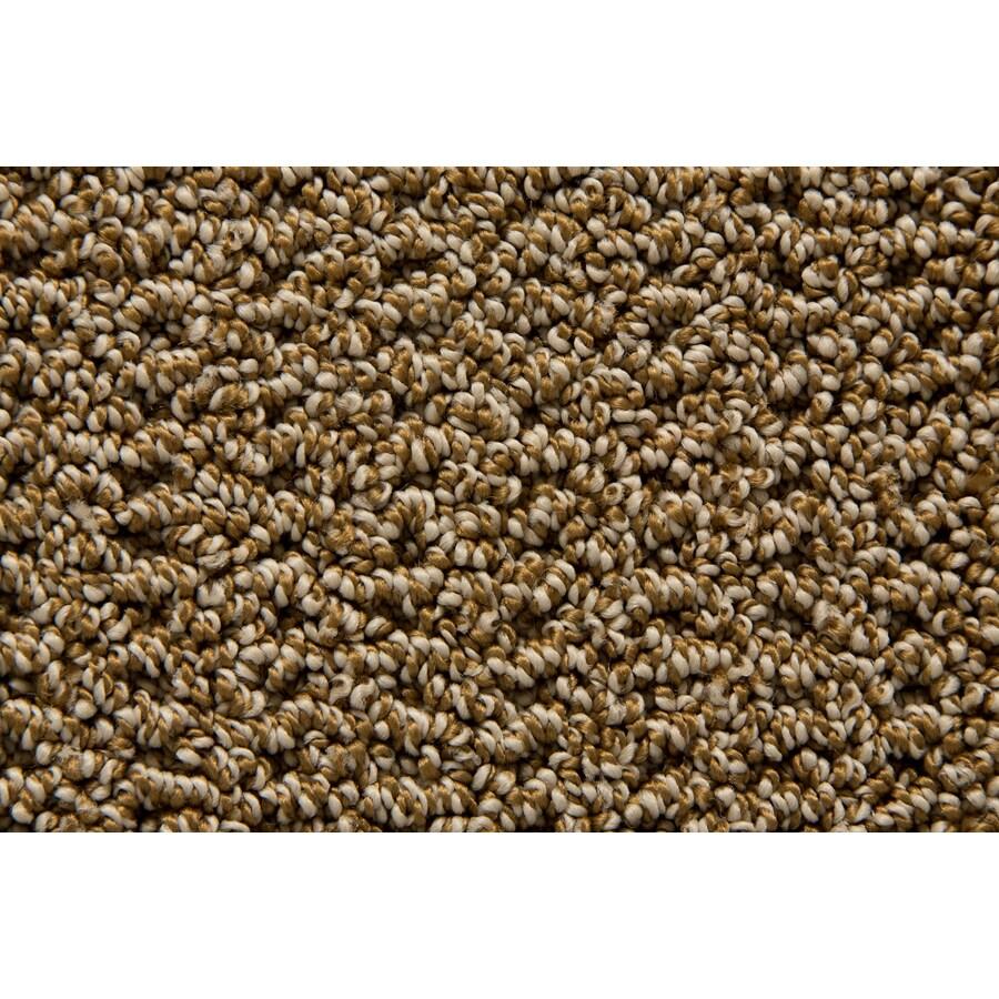STAINMASTER Merriment TruSoft Bronze Berber Carpet Sample
