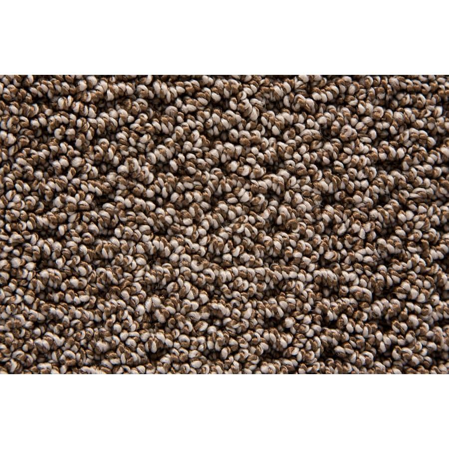 STAINMASTER Merriment TruSoft Pecan Berber Carpet Sample
