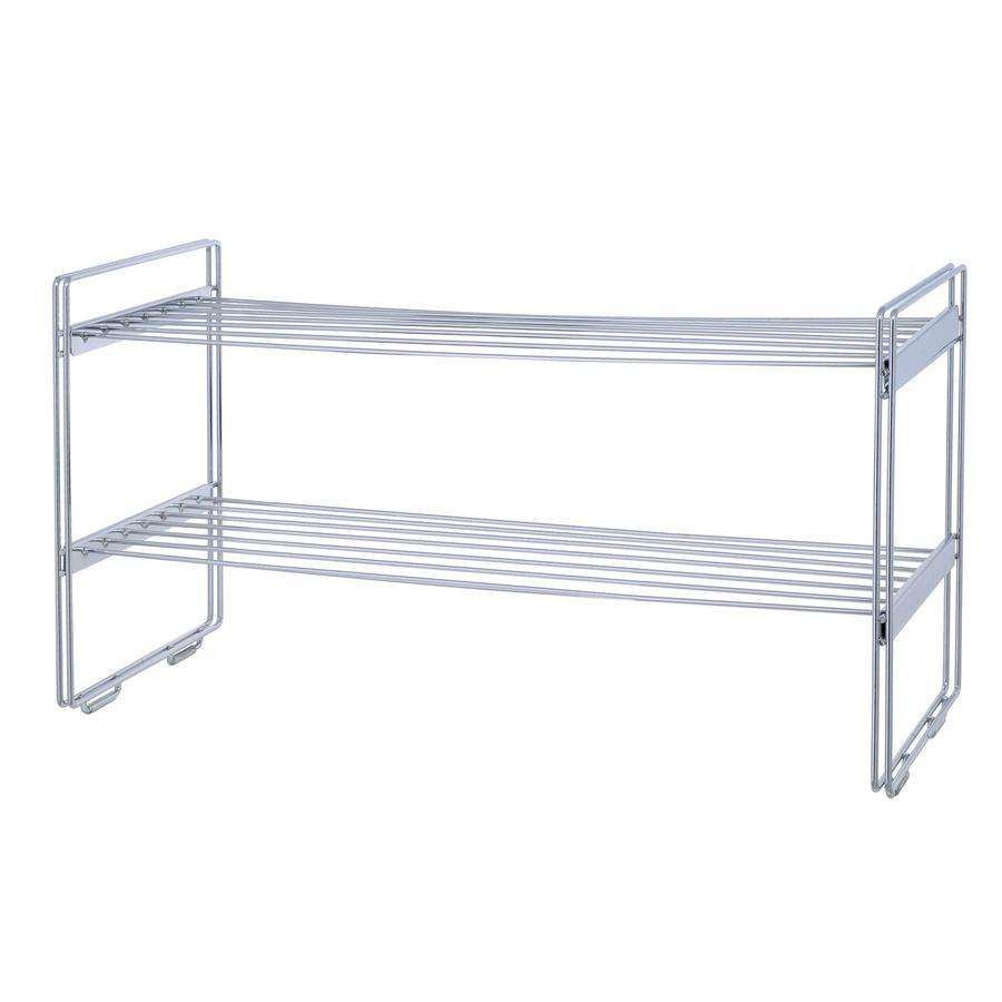 Metal Pro Metal Chrome Closet Shelves
