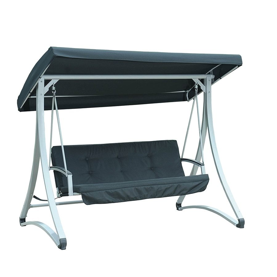 Shop Sunjoy 2 Seat Steel Casual Porch Swing At Lowes Com