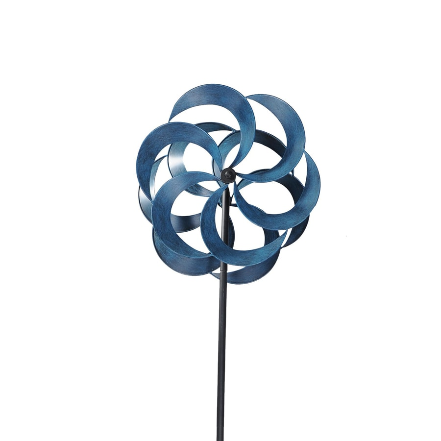 Sunjoy Blue Steel Wind Spinner