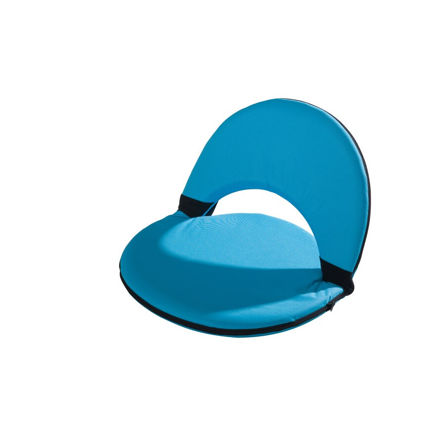 Sunjoy Turquoise Plastic Patio Chaise Lounge Chair