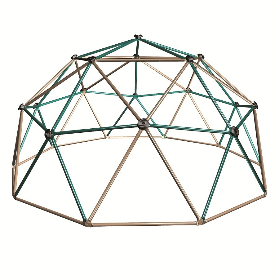 LIFETIME PRODUCTS Geo Dome Climber Metal Playset