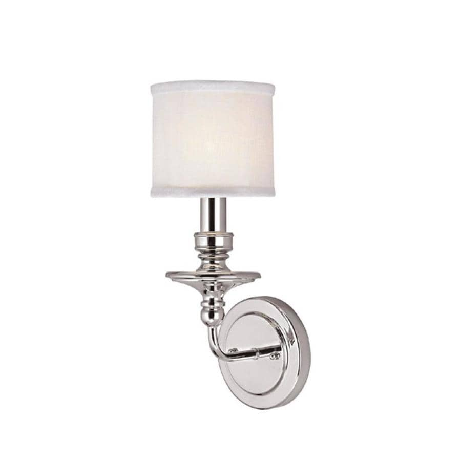 Century 6-in W 1-Light Polished Nickel Pocket Wall Sconce
