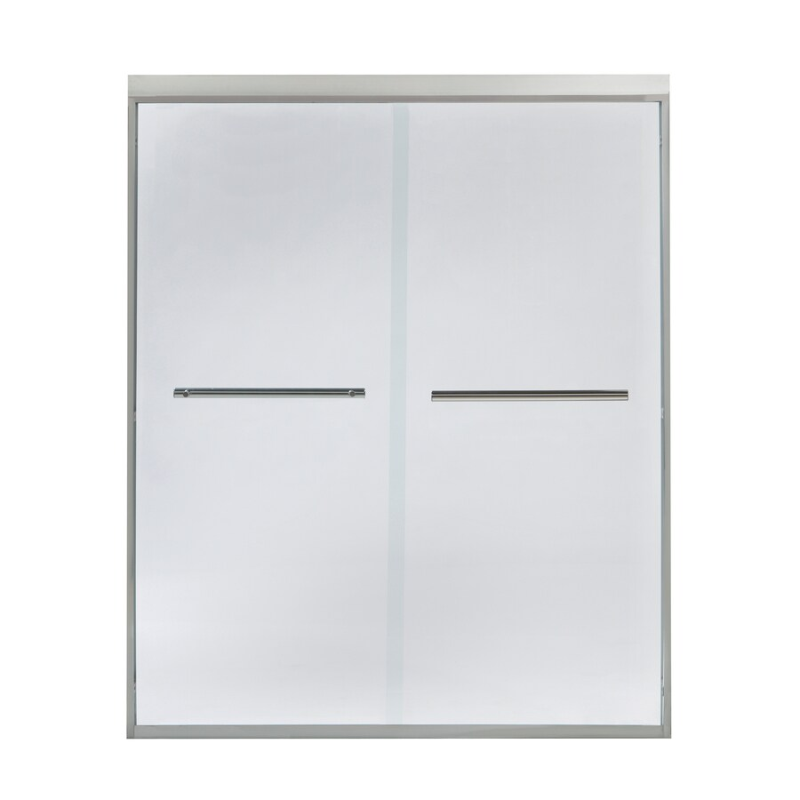 Style Selections 60-in W x 72-in H Sliding Shower Door