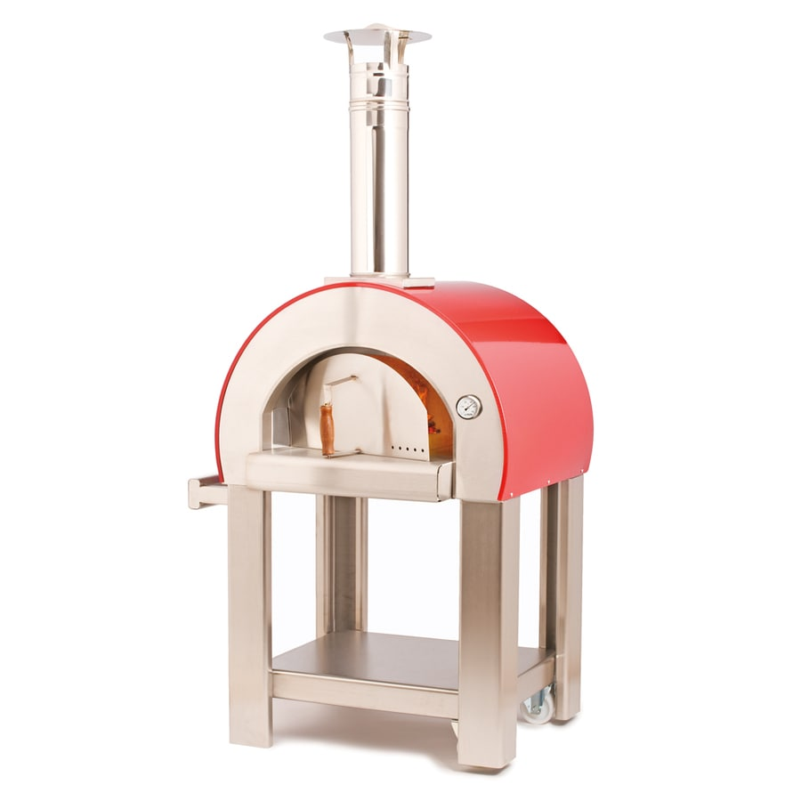 Alfa Pizza Forninox Brick Hearth Wood-Fired Outdoor Pizza Oven