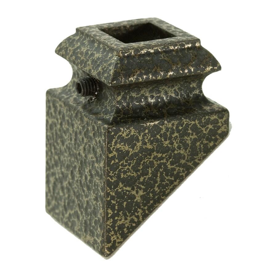 WM Coffman Antique Bronze Aluminum Baluster Shoe