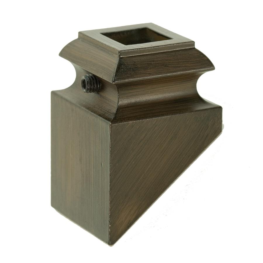 WM Coffman Oil Rubbed Bronze Aluminum Baluster Shoe