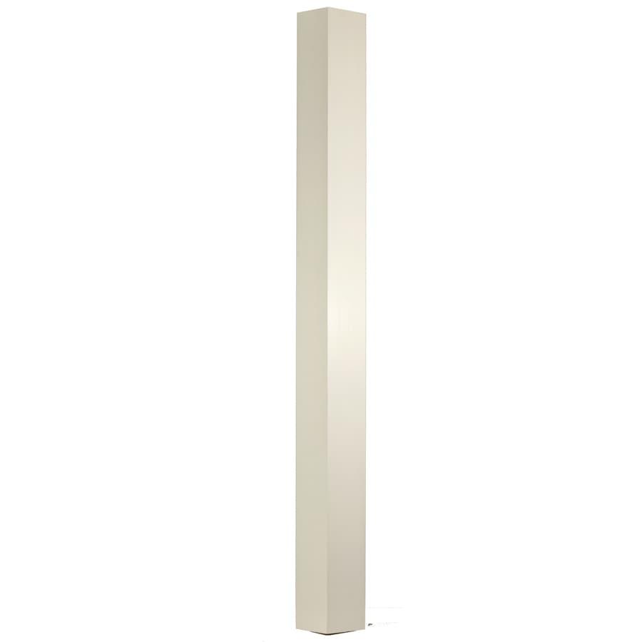 WM Coffman Ibn 4.5-in x 62-in Primed White Primed Poplar Wood Stair Newel Post