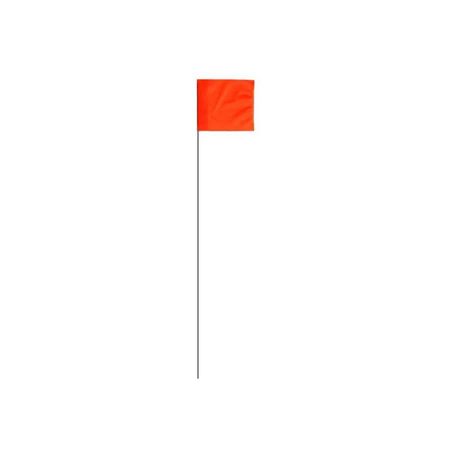 Presco 15-in Orange PVC Marking Flag