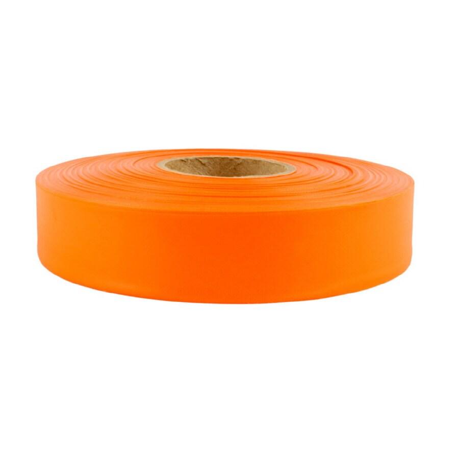 Presco 1-in x 600-ft Orange Flagging Tape