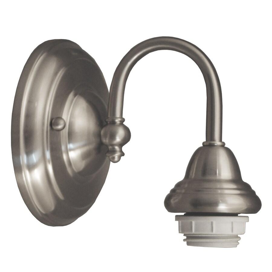 Portfolio D&C 1-Light Brushed Nickel