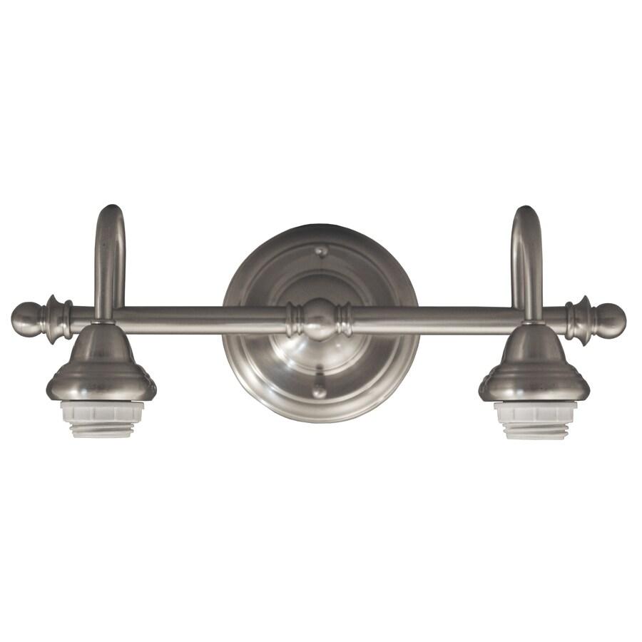 Portfolio D&C 2-Light Brushed Nickel
