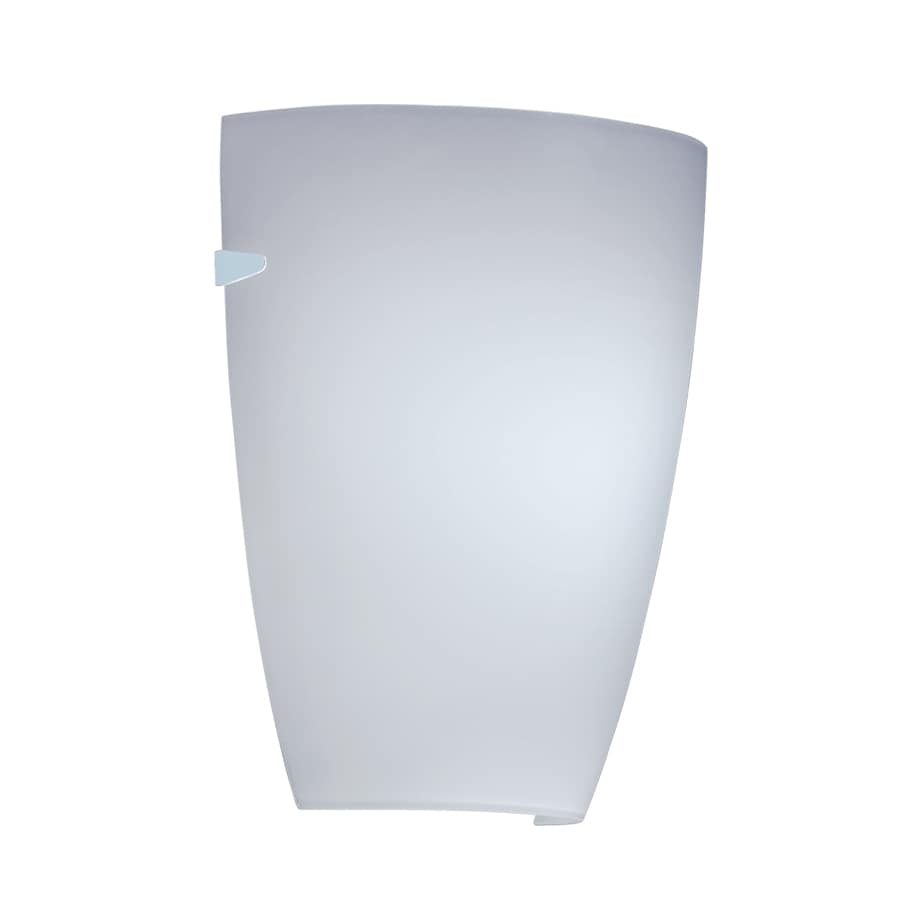 Portfolio 7.87-in W 1-Light White Pocket Hardwired Wall Sconce
