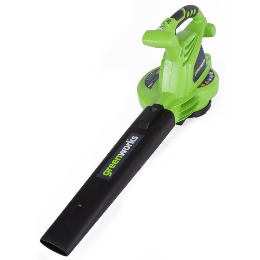 Greenworks 7-Amp 240-CFM 160-MPH Corded Electric Leaf Blower