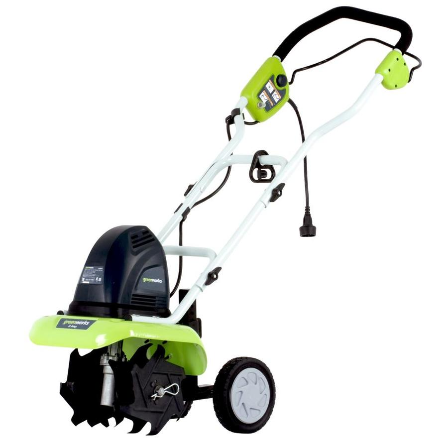 Greenworks 8-Amp 10-in Corded Electric Cultivator