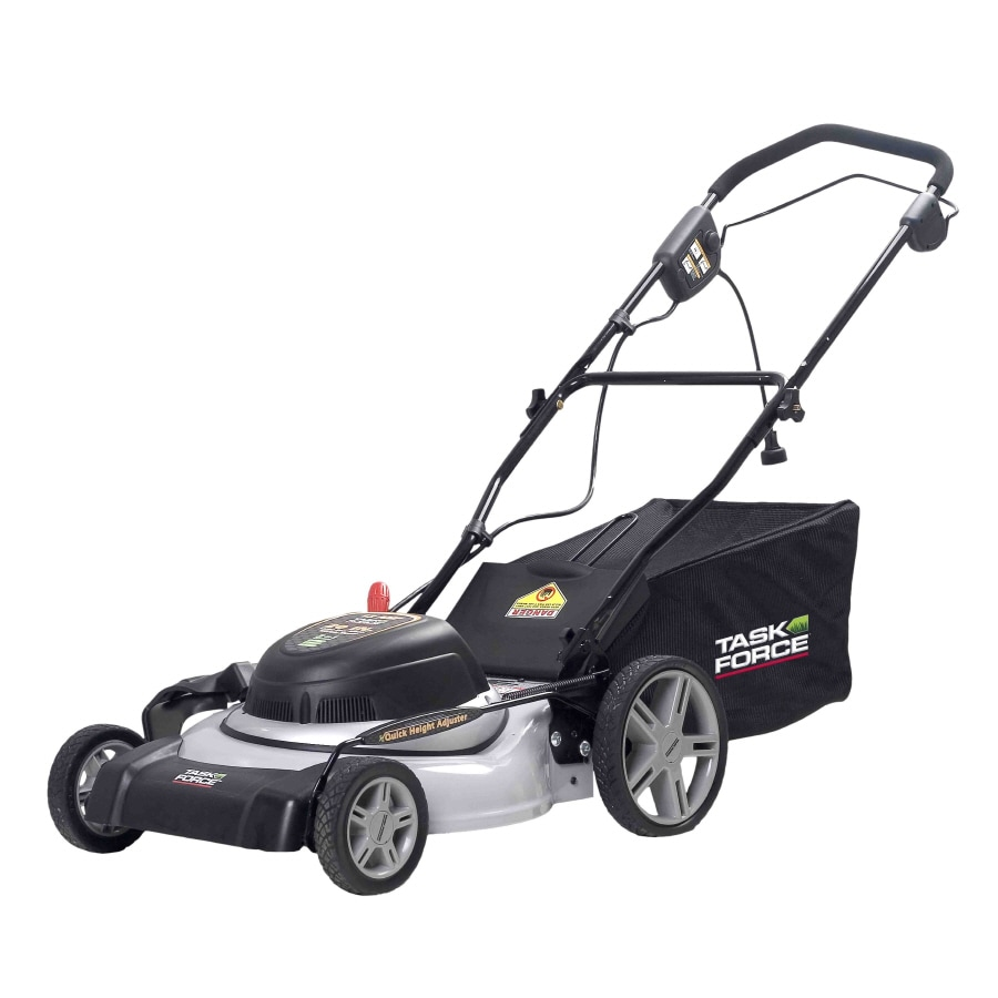 Task Force 12-Amp 20-in Corded Electric Push Lawn Mower