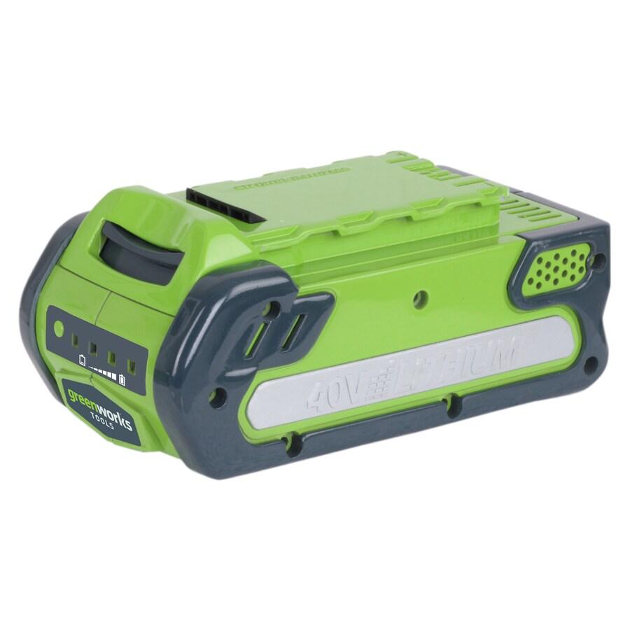 Greenworks 40-Volt 2-Amp Farm Equipment Battery