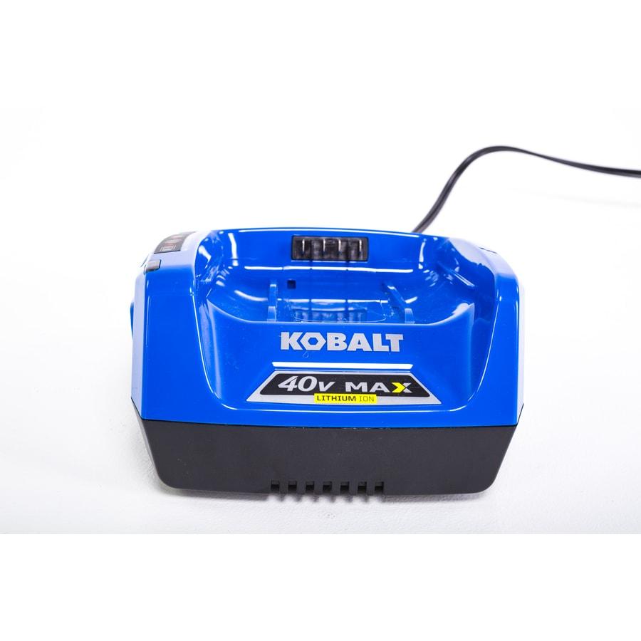 Kobalt 40-Volt Lithium Ion (Li-Ion) Cordless Power Equipment Battery Charger