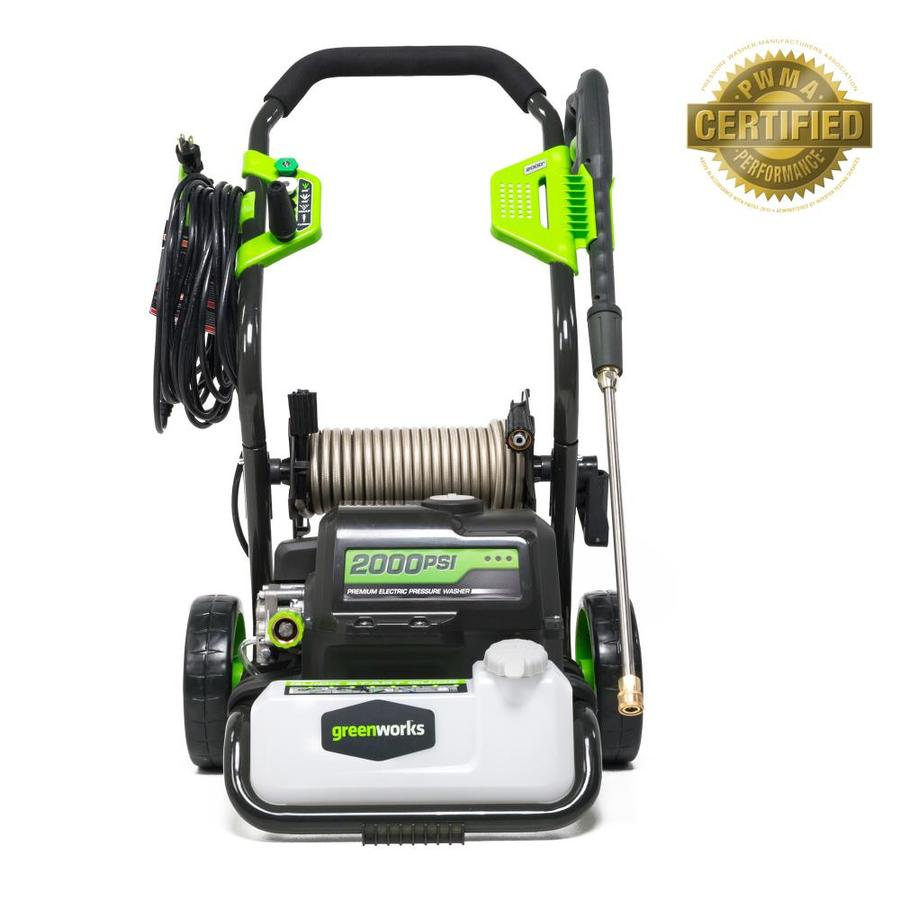 Shop Greenworks 2 000 Psi 1 2 Gpm Cold Water Electric