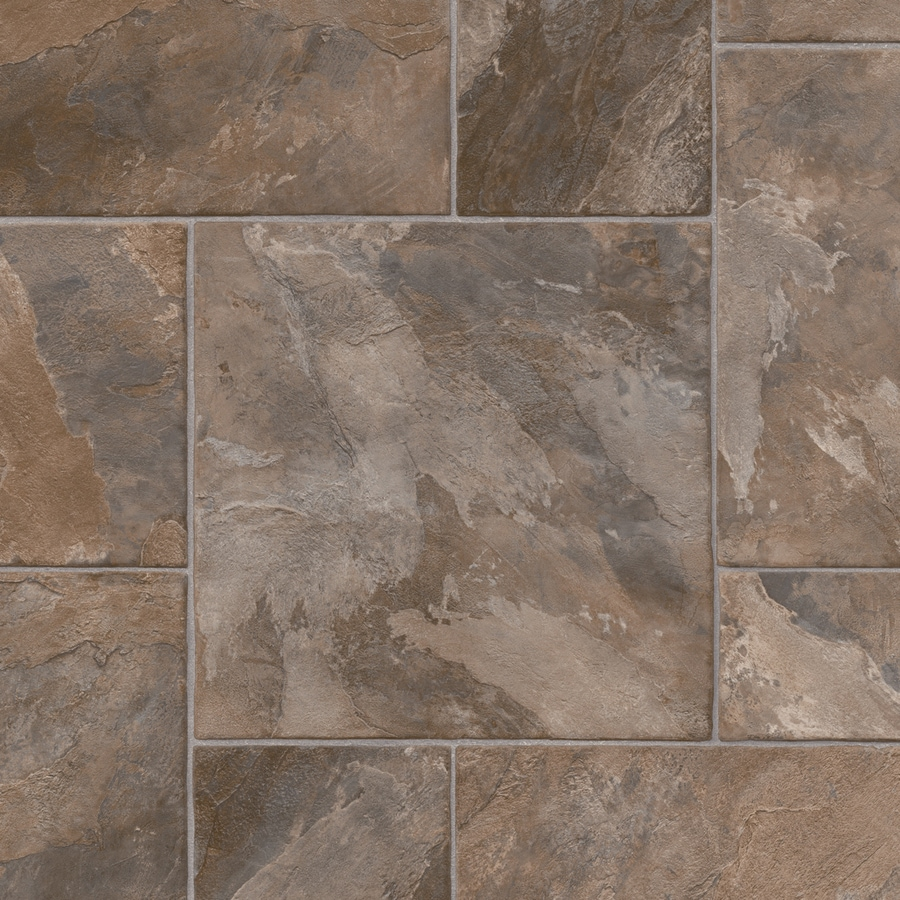 IVC 13.167-ft W Rocky 947 Stone Low-Gloss Finish Sheet Vinyl