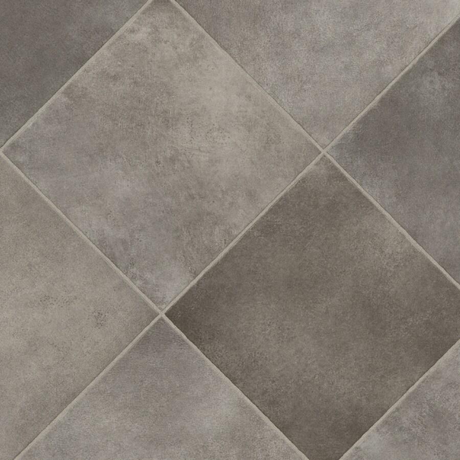 Shop ivc w durango 990 tile low gloss finish sheet vinyl at - Vinyl tile at lowes ...