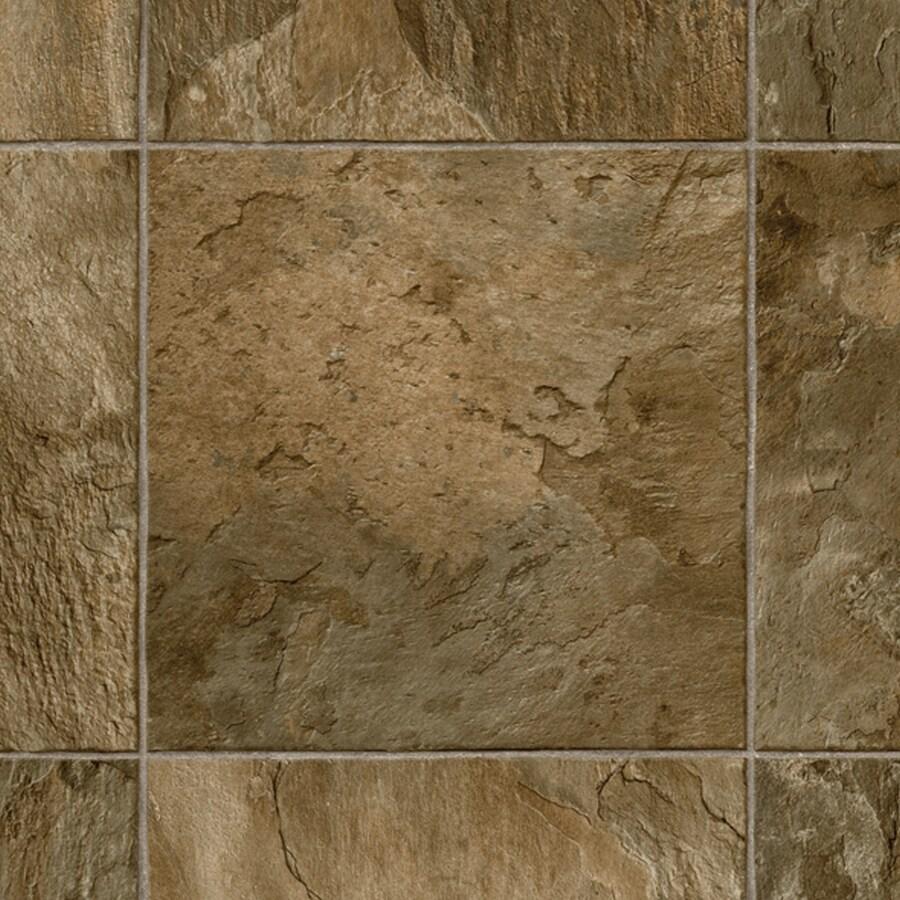 IVC 13.167-ft W Dolomite 942 Tile Low-Gloss Finish Sheet Vinyl