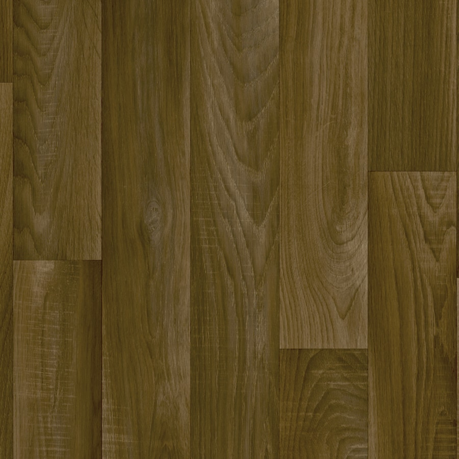 IVC 13.167-ft W Toulouse 837 Wood Low-Gloss Finish Sheet Vinyl
