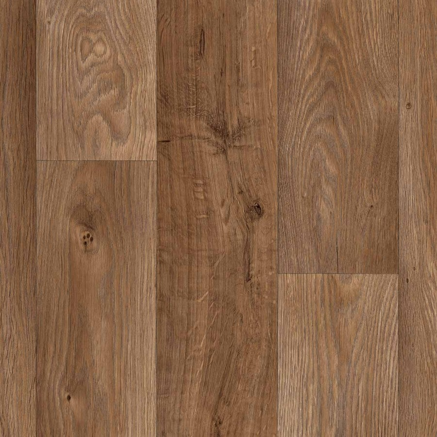 IVC 13-1/8-ft W Aspin 843 Wood Low-Gloss Finish Sheet Vinyl