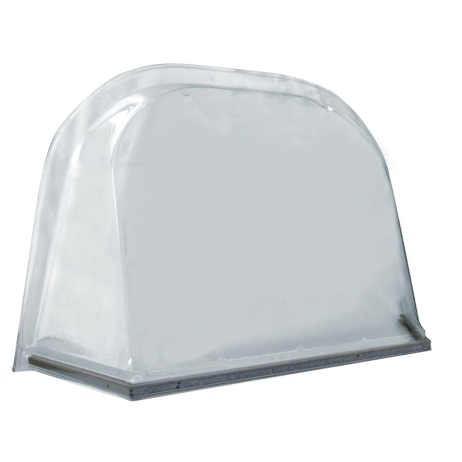 Shop wellcraft 45 in x 57 in x 18 in plastic window well for Window zipper home depot