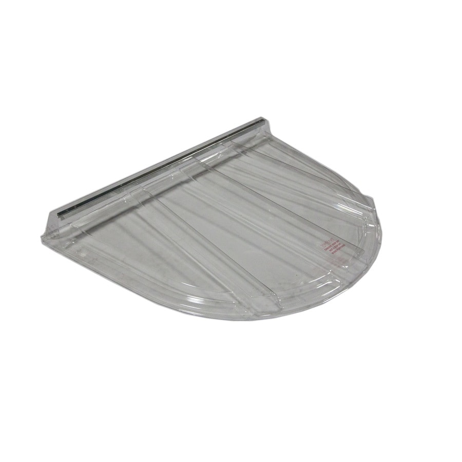 Wellcraft 44-1/2-in x 59-in x 6-in Plastic Window Well Covers