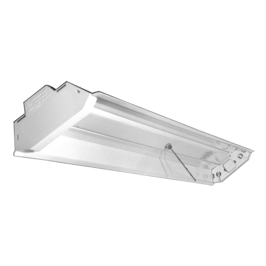 Utilitech Fluorescent Shop Light (Common: 4-ft; Actual: 6.5-in x 48-in)