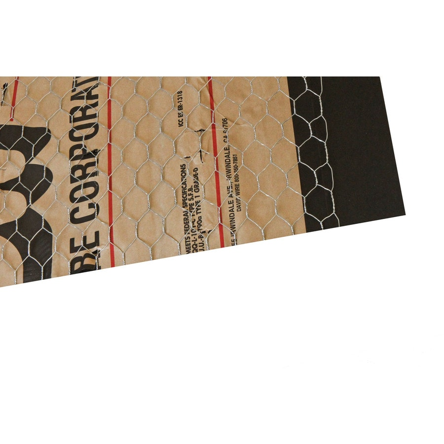 Stucco Netting (Common: 37.5-in x 100-ft; Actual: 37.5-in x 100-ft)