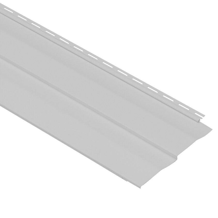 Georgia-Pacific Vinyl Siding Vision Pro 10-in x 144-in Gray Woodgrain Double 5 Dutch Lap Vinyl Siding Panel