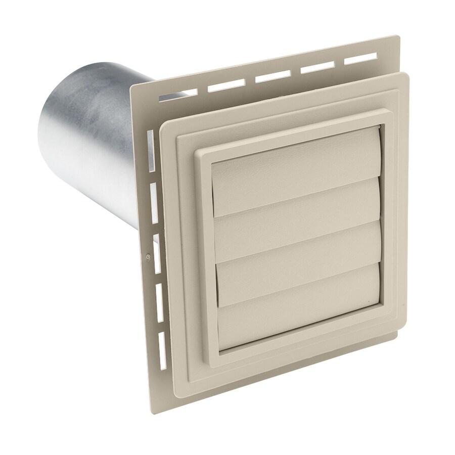 4-in Dia Plastic R2 Exhaust Dryer Vent Hood