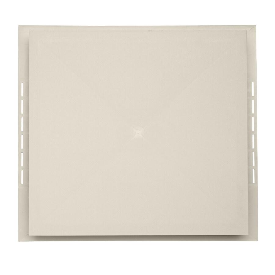 18.5-in x 16.75-in Almond Vinyl Universal Mounting Block