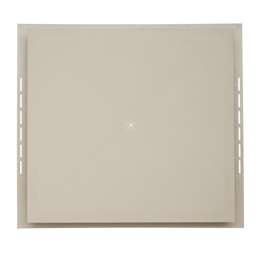 18.5-in x 16.75-in Northern Oak Vinyl Universal Mounting Block