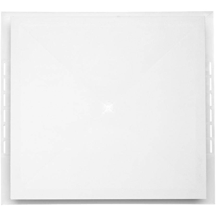 18.5-in x 16.75-in White Vinyl Universal Mounting Block
