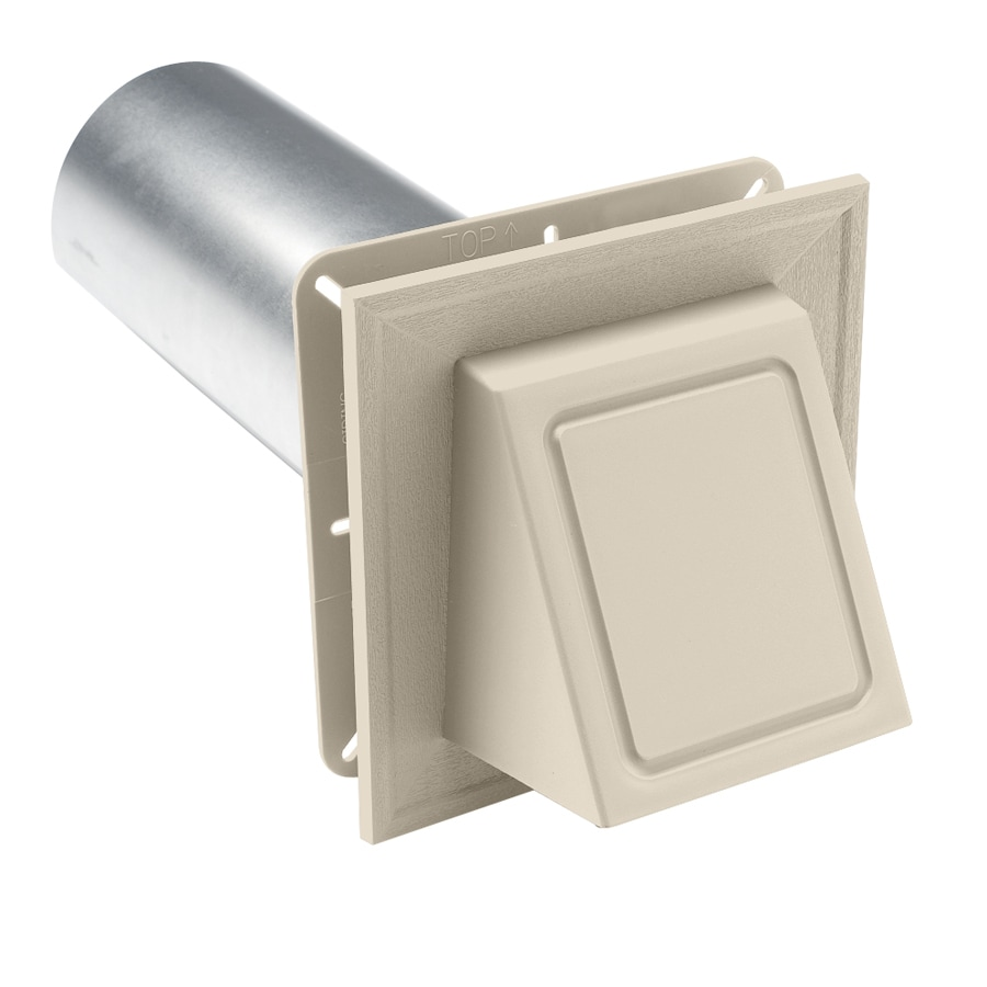 4-in Dia Plastic R2 Exhaust/Intake Dryer Vent Hood